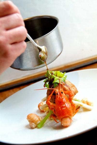 Boris campanella chef cuisinier une cuisine alliant for Offre emploi chef de cuisine